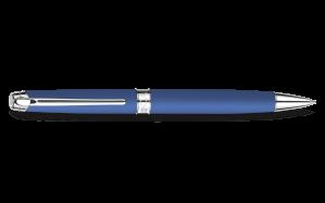silver-plated-rhodium-coated-léman-blue-night-matt-ballpoint-pen